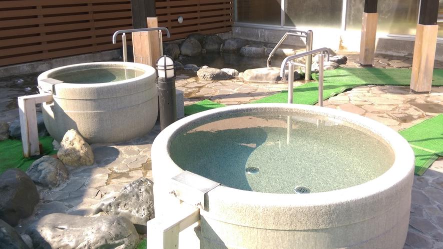 【温泉・露天風呂】疲労回復・血行促進に期待ができる湯です。疲れた身体をリフレッシュできます。