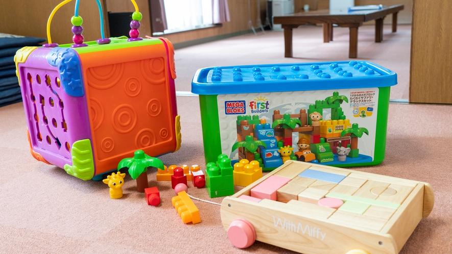 おもちゃ箱付コテージは小さなお子様のいる方に人気です!平屋建てコテージを満喫♪