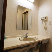 *【部屋】広々とした洗面所も完備。コンセントも使用できるため使い勝手が抜群です。
