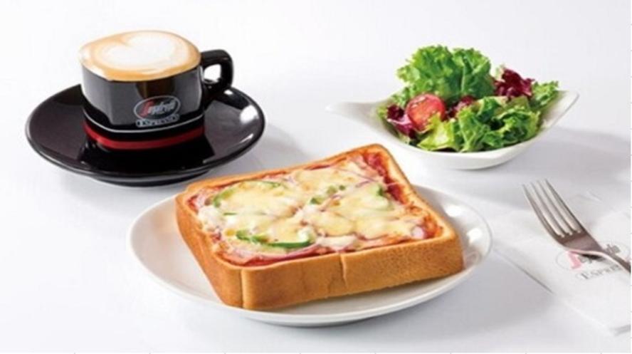 【セガフレード】ピザトーストセット