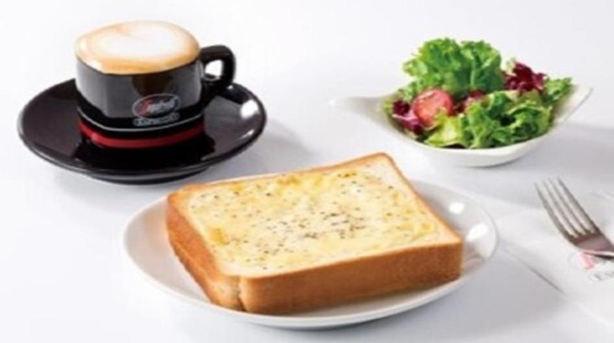 【セガフレード】チーズトーストセット