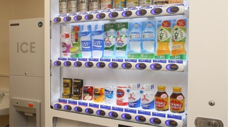【2階ランドリーコーナー】自動販売機・製氷機