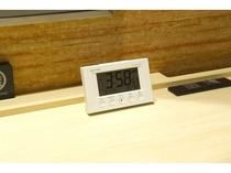 【客室 時計】