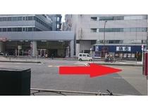 道案内(泉岳寺駅)2
