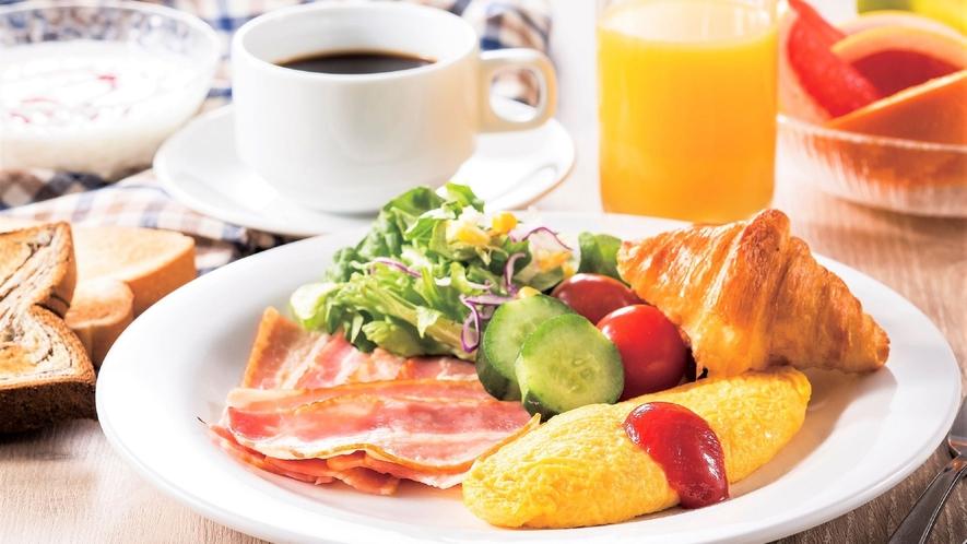 50種類の朝食バイキング「洋食」