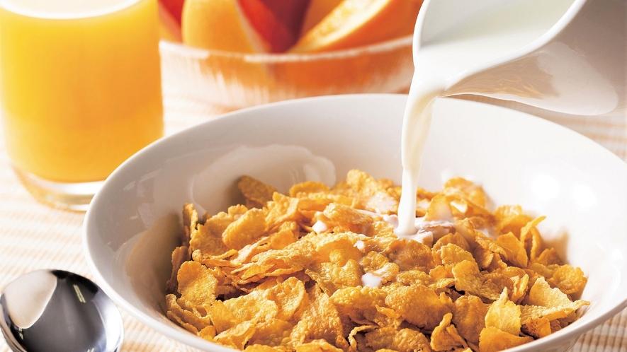 50種類の朝食バイキング「シリアル」