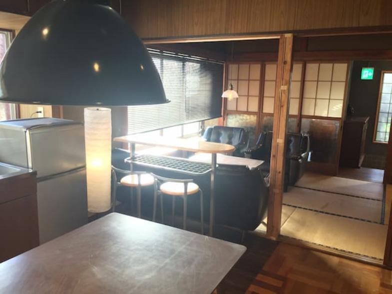 Fujitrip キッチンとリビング