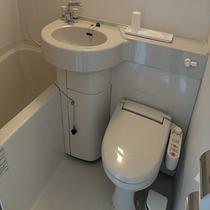 【浴室】ユニットバス 洗浄機付きトイレ