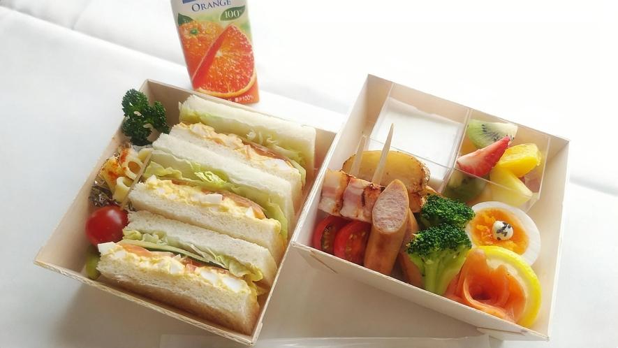 野菜とタマゴのサンドウィッチBOX ※イメージ