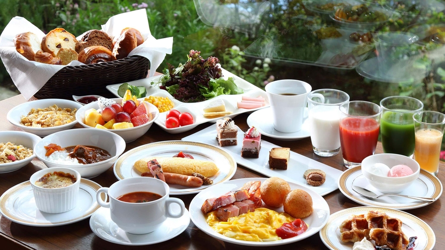 BREAK FAST / Grand cafe -和洋セミブッフェ イメージ-