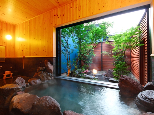 【文-ぶん-】離れ!美人湯源泉100%かけ流し 内湯&露天風呂付きメゾネット 泊食分離スタイル