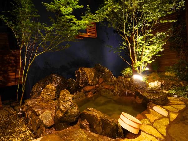 【武(ぶ)】四季折々の風情を楽しんで頂ける露天の岩風呂