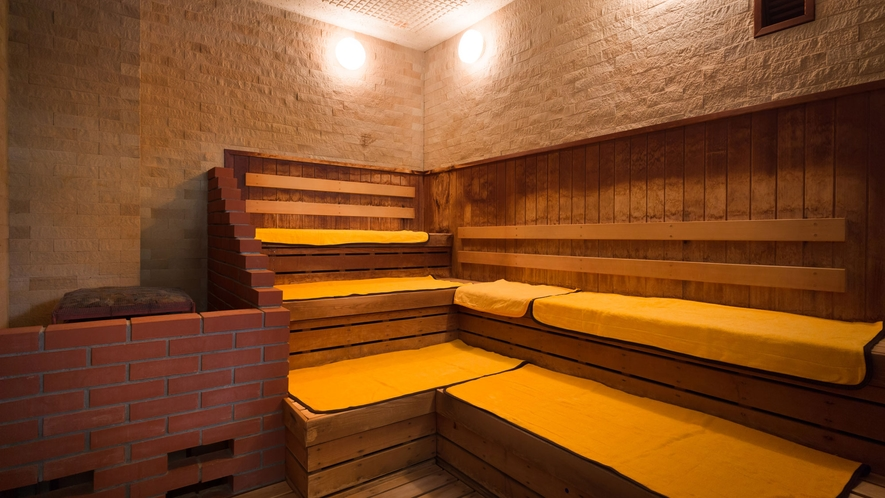 温泉施設「ゆりかご」サウナ