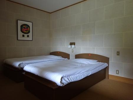 【梅の館】洋室ツインベットルーム