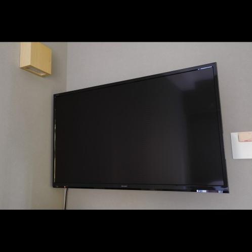 全室壁付40型液晶テレビ