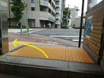 道順① 新富町駅3番出口を出て左へ