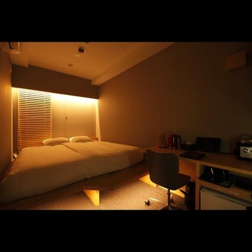 アマネクダブルルーム(リラックスモード照明)