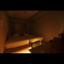 コージーツインルーム(ナイトモード照明)