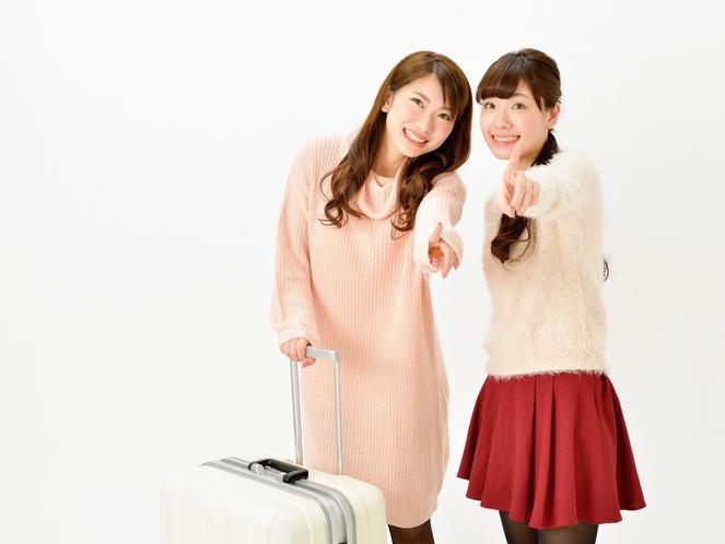 女子旅に!
