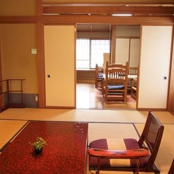 和洋室(2間続きのお部屋)