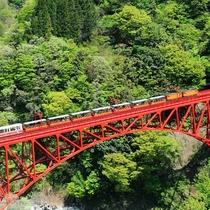黒部峡谷トロッコ電車(新山彦橋)