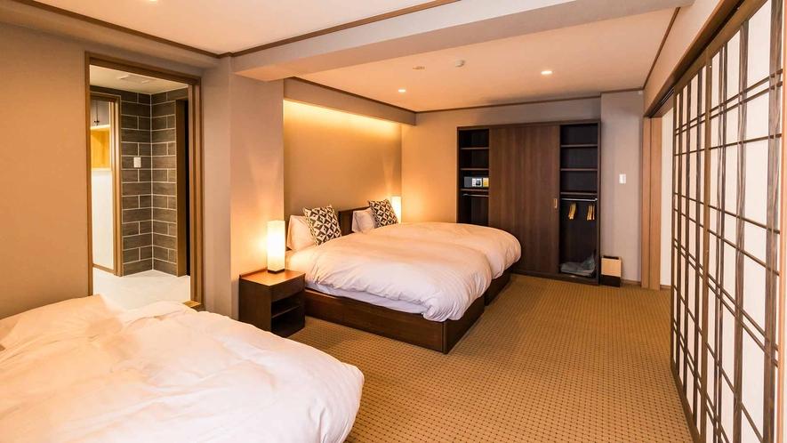 1 Bedroom Premier ベッドルーム