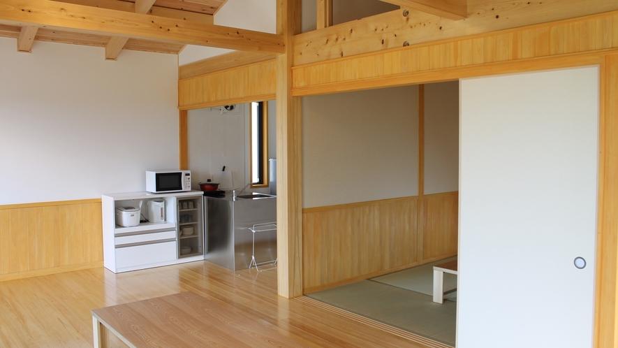 *【ゲストハウス】<ひかり>キッチン