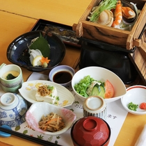 【朝食一例】和食又は洋食からお選びください。
