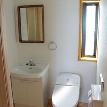 ゲストハウス<ひかり>トイレ洗面台