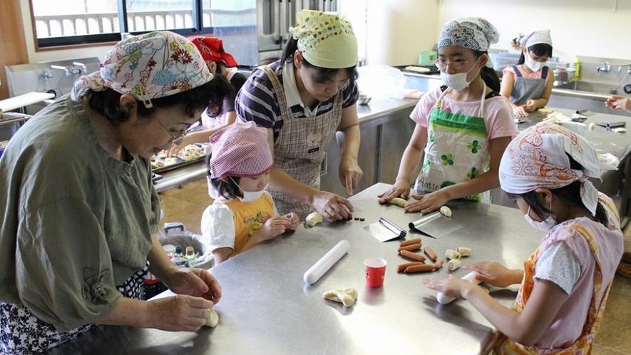 *【パン作り体験】お子様に大人気♪
