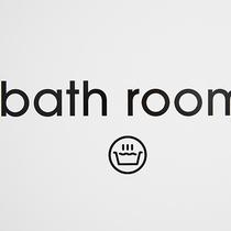 バスルームのサイン