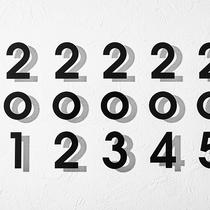各階の客室番号のサイン