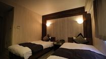 ◆ツインルーム◆110cmベッド×2台