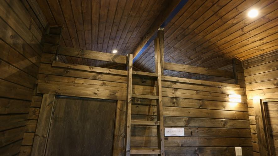 *【2K+ロフト:館内】ロフトへの階段