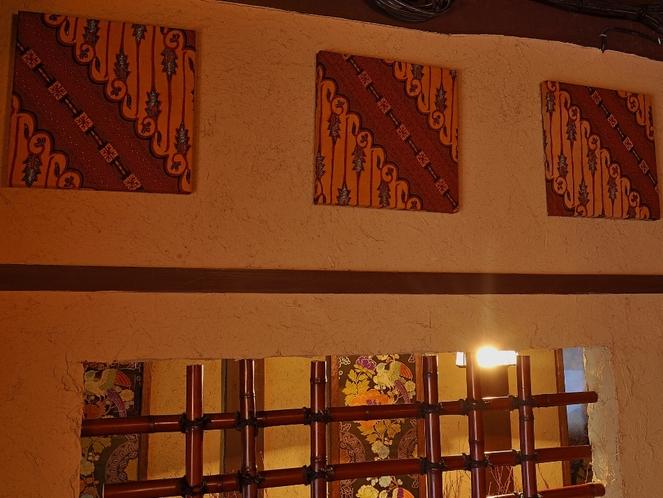 茶室設置のアートパネル