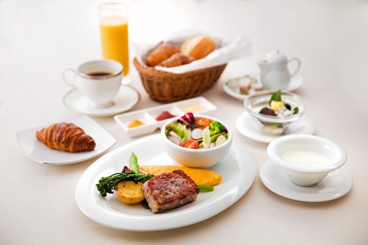 朝食(会場)
