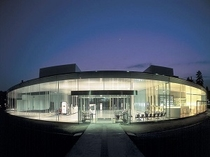 金沢市内 金沢21世紀美術館の夜景