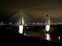内灘大橋☆サンセットブリッジ内灘の夜景☆