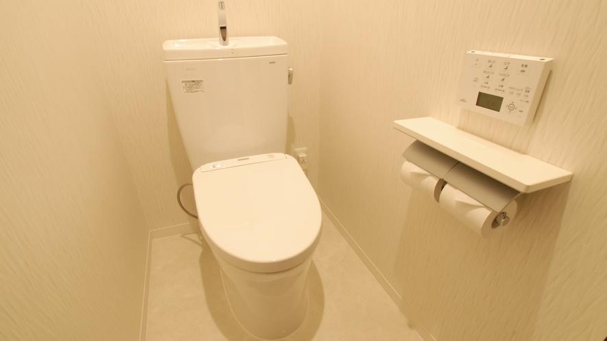 【デラックスツイン トイレ】