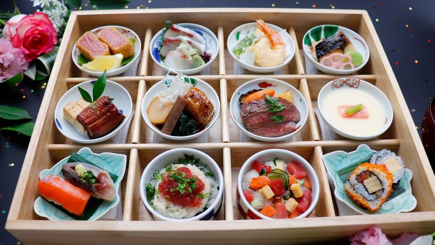 夕食付きプラン 日本料理 魚月(なづき)の「魚月弁当」
