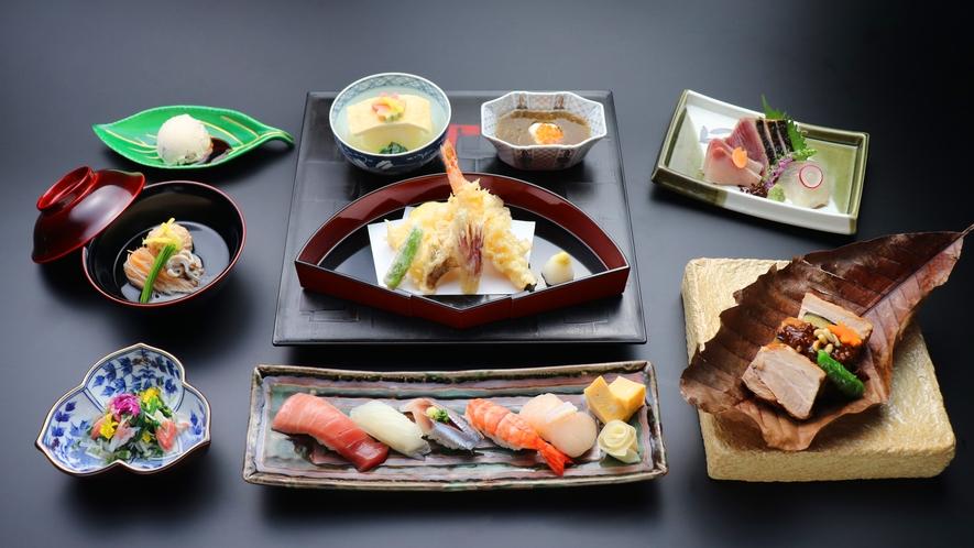 夕食付きプラン 日本料理 魚月(なづき)の「魚月会席」
