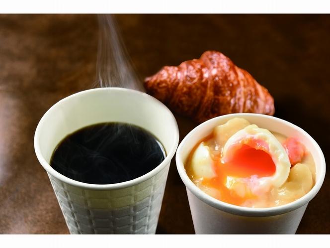 魚河岸食堂の朝食 クロワッサン&シチュー(センリ軒)