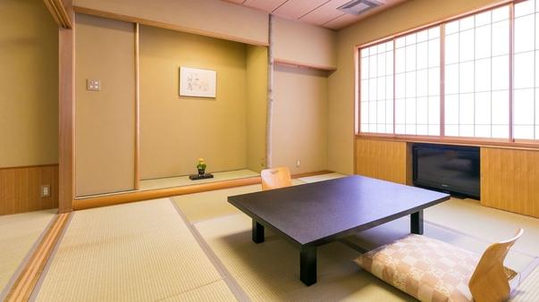【夕食半個室会場】和室(禁煙)〜8畳+次の間4畳〜Wi-Fi