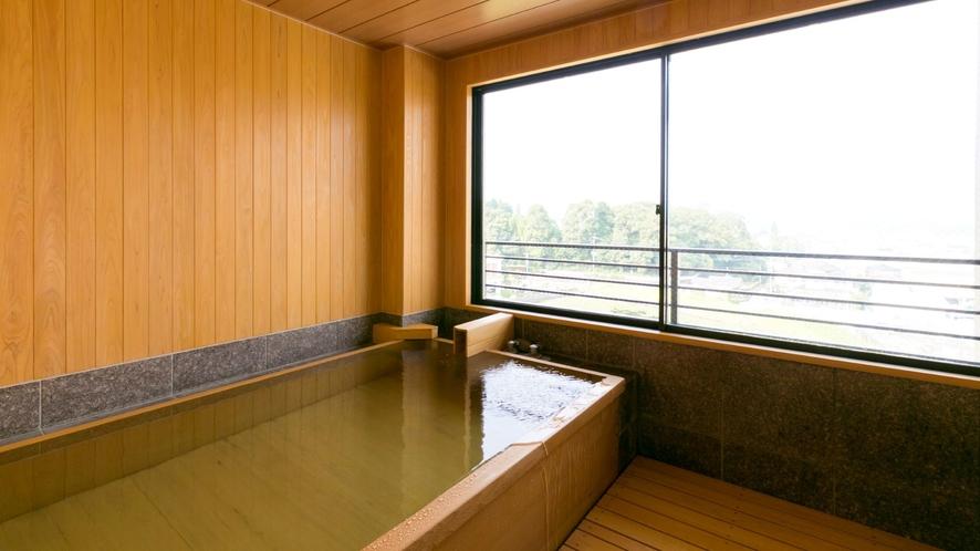 特別室浴室(檜風呂)