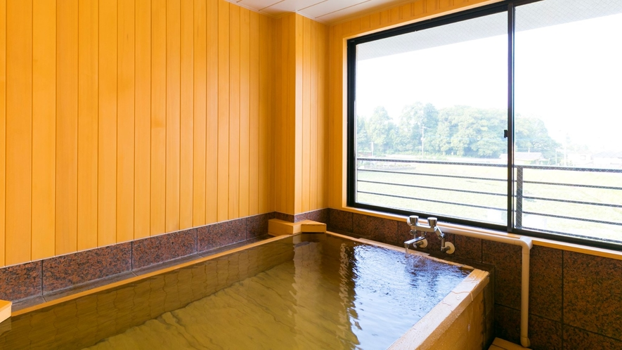 貸切湯「木立の湯」(檜風呂)
