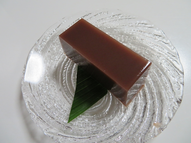 7月の和菓子「水羊羹」