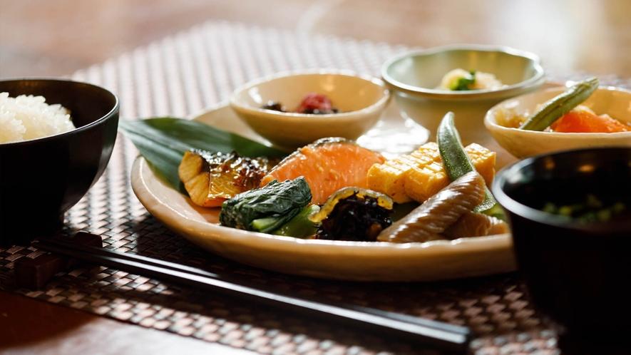 和洋朝食ブッフェ/一例/和食派の方にも。信州の新鮮食材が彩る、爽やかな朝をお過ごしください