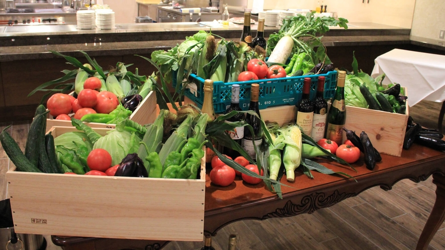 新鮮な信州野菜
