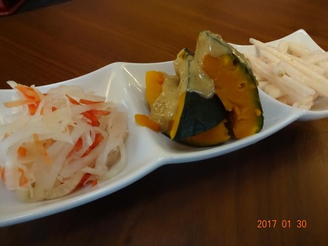 冬野菜の3品