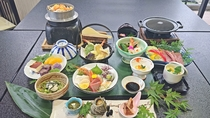 *【藤会席】季節の食材を取り入れた本格会席。